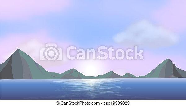 An ocean - csp19309023