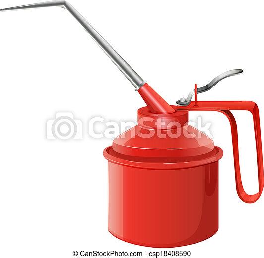 An oil can - csp18408590