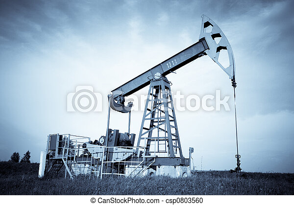 An oil pump jack - csp0803560