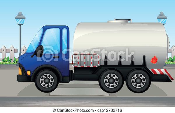 An oil tanker - csp12732716