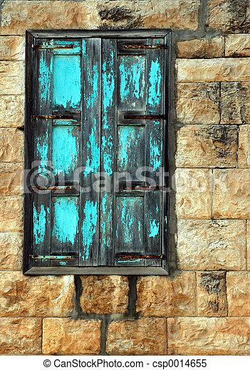 An old window - csp0014655
