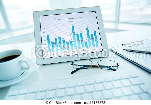 analisi mercato - csp13177878