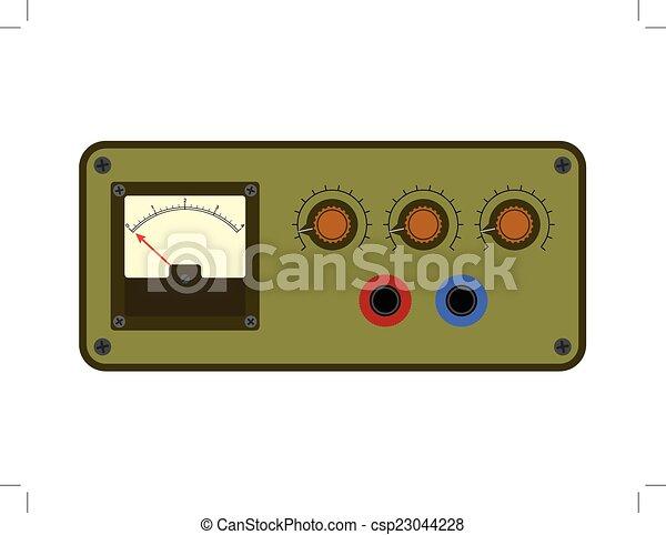 Analogical control panel - csp23044228