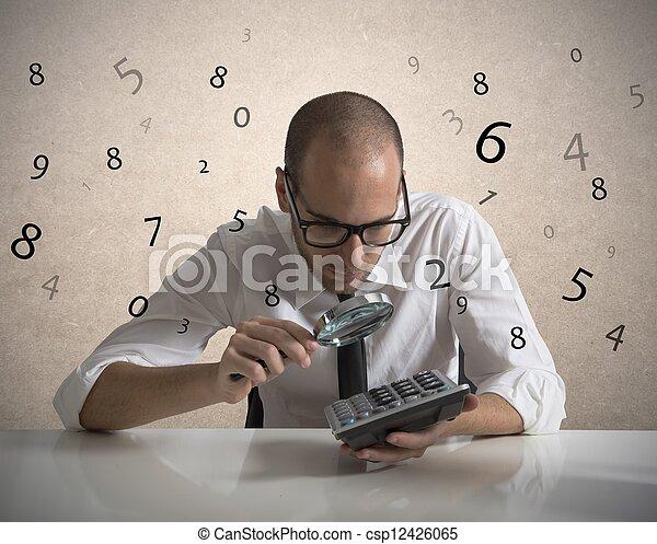 analyser, nombres - csp12426065