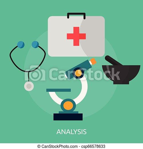 Analysis Conceptual illustration Design - csp66578633