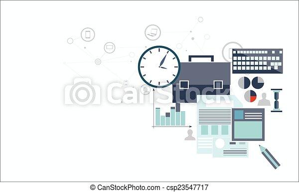analytics, économe - csp23547717