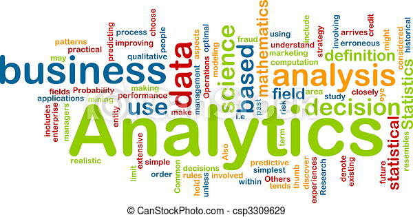 Analytics background concept - csp3309629