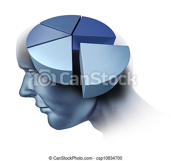 Analyzing The Human Brain - csp10834700