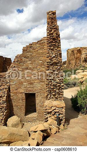 Anasazi ruins - csp0608610