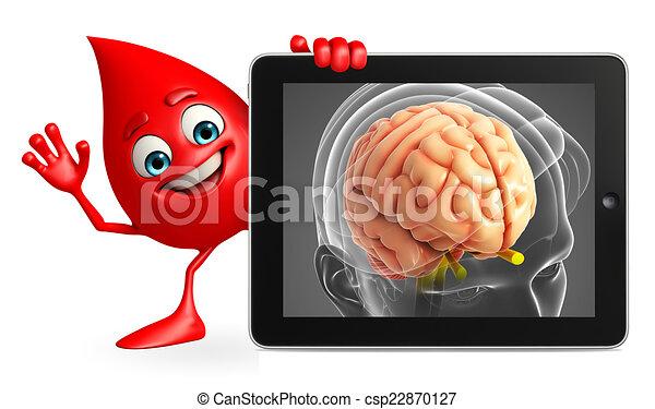 Anatomía, cerebro, gota, carácter, sangre. Gota, carácter, anatomía ...