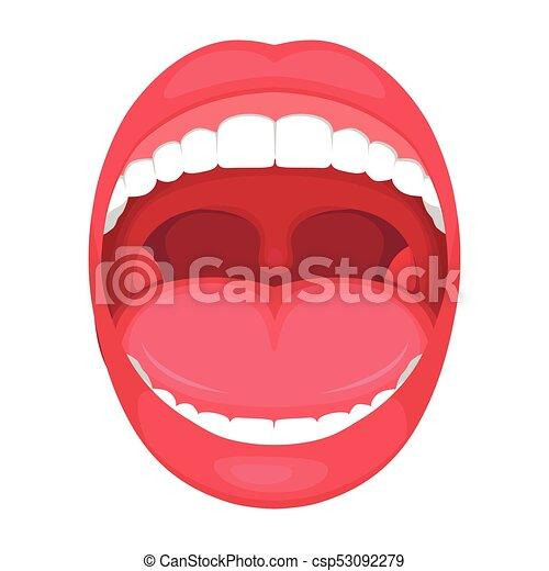anatomia boca aberta human anatomia ilustração médica diagrama