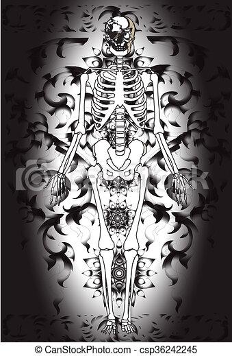 anatomy-and-line-thai - csp36242245