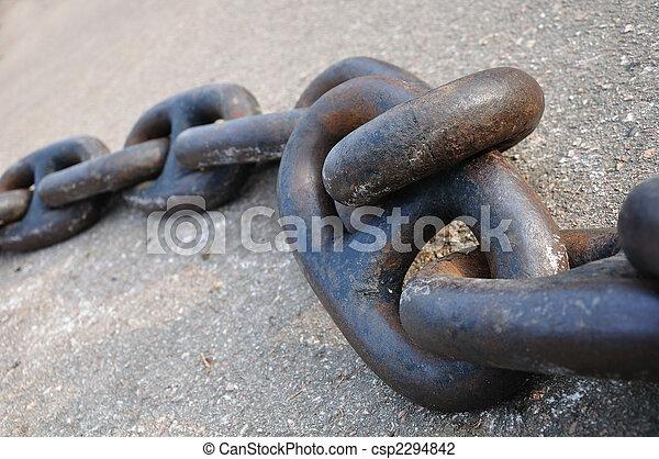 Anchor chain - csp2294842
