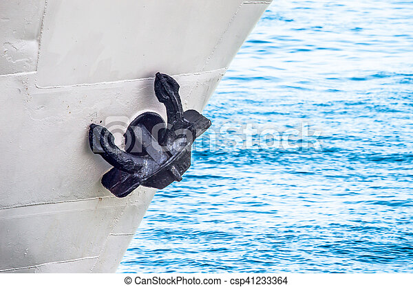 Anchor of the Boat - csp41233364
