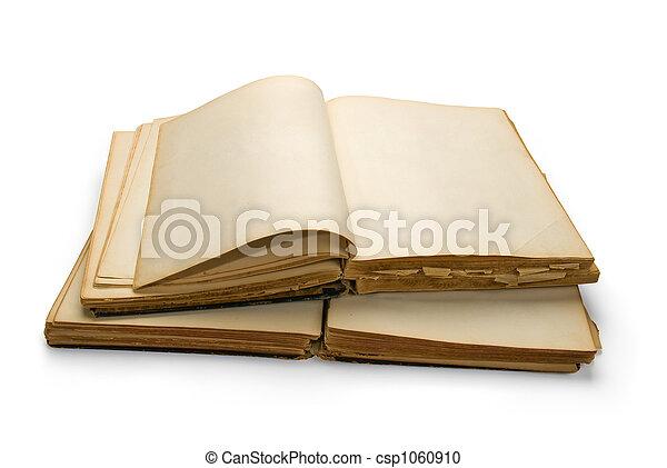 Ancien Livre Ouvert