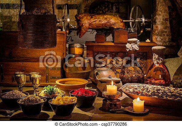 nourriture Moyen Age