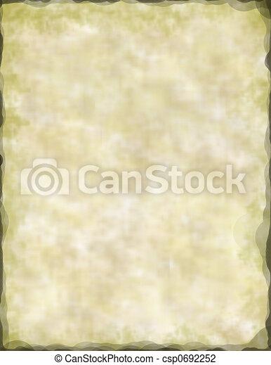 Ancien Papier Parchemin Ancien Tissu Edges Parchemin Singed Conception Ou Canstock