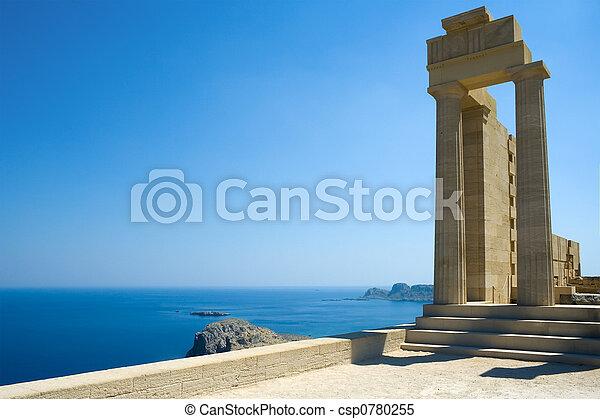 ancien, temple - csp0780255