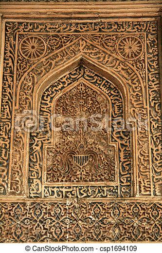 Ancient Architecture - Lodi Garden, Delhi, India - csp1694109