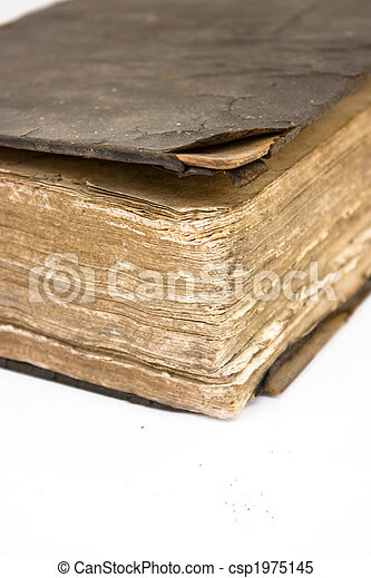 Ancient Book - csp1975145