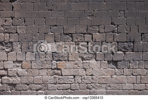 Ancient Brick Wall Gothic Area