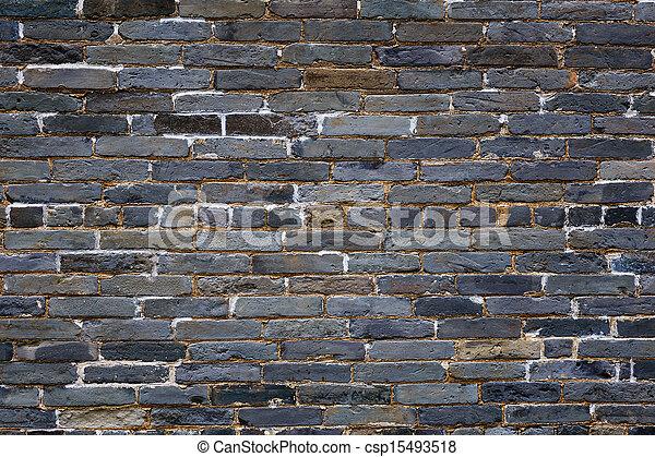 Ancient brick wall - csp15493518