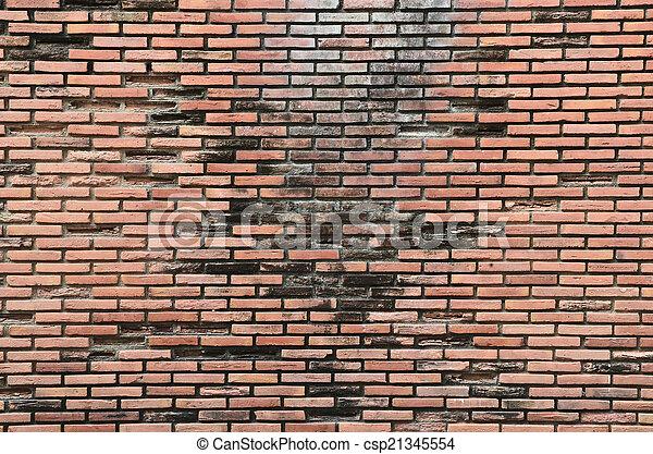 ancient brick wall  - csp21345554