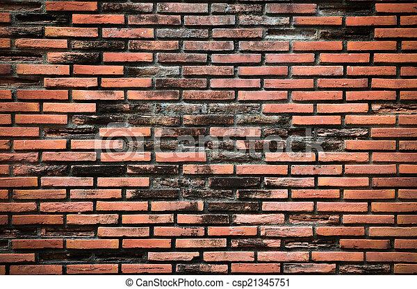 ancient brick wall  - csp21345751