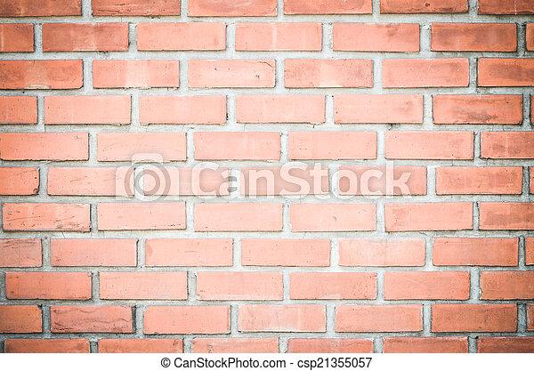 ancient brick wall  - csp21355057