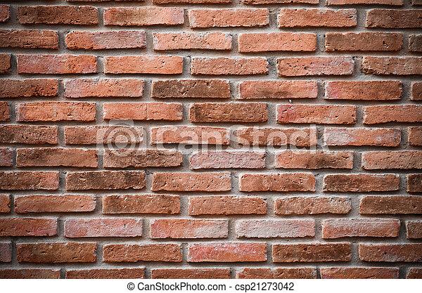 ancient brick wall - csp21273042