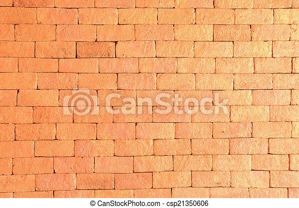 ancient brick wall  - csp21350606