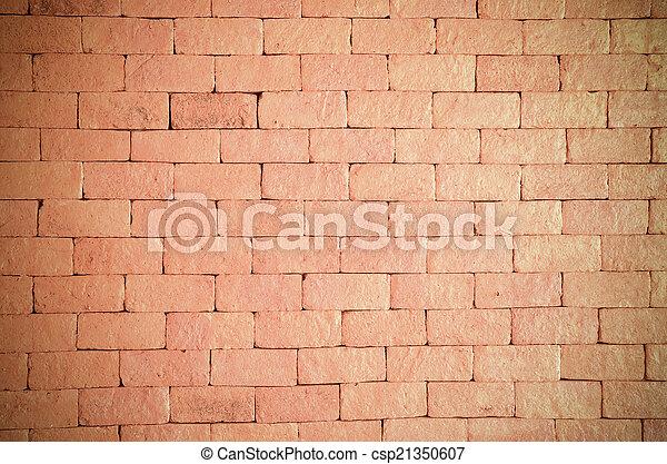 ancient brick wall  - csp21350607