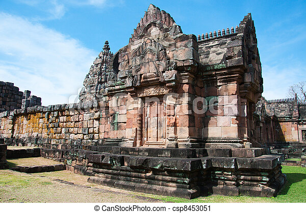 Ancient buddhist temple - csp8453051
