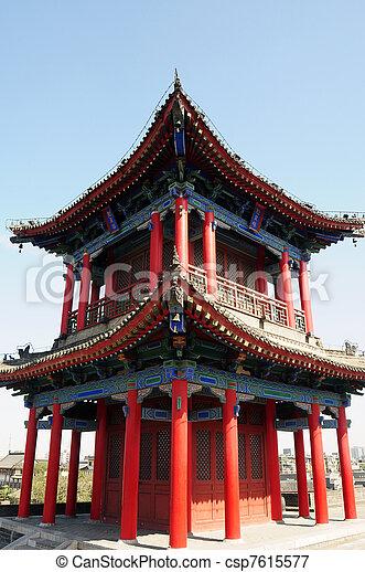 Ancient building - csp7615577