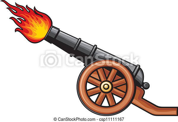ancient cannon old artillery cannon rh canstockphoto com clip art canopic jars clipart canoe
