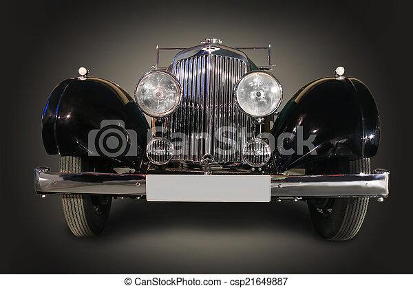 ancient car - csp21649887