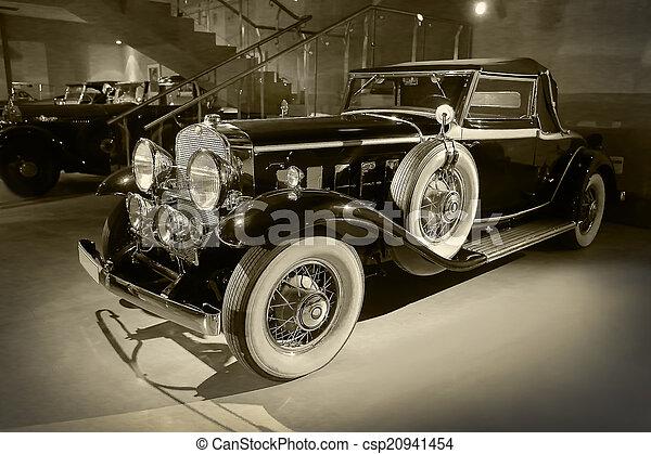 ancient car - csp20941454