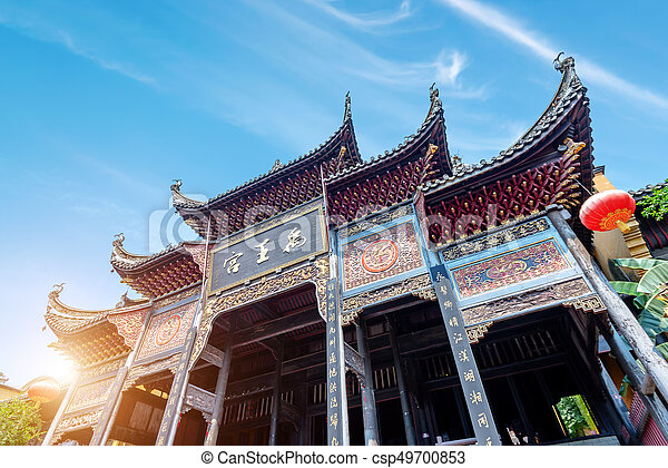 ancient chinese architecture yu palace there are ancient temples