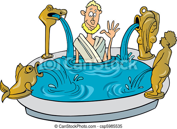 illustration of ancient citizen of rome taking bath clipart vector rh canstockphoto com roman helmet clip art roman columns clip art