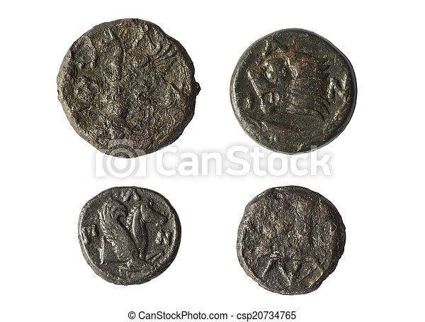 ancient coins of Greece - csp20734765