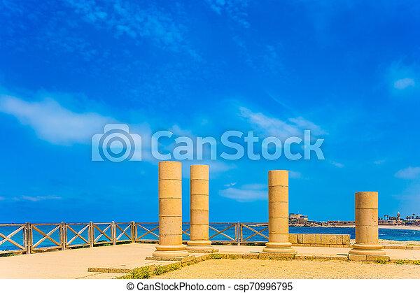 Ancient columns - csp70996795