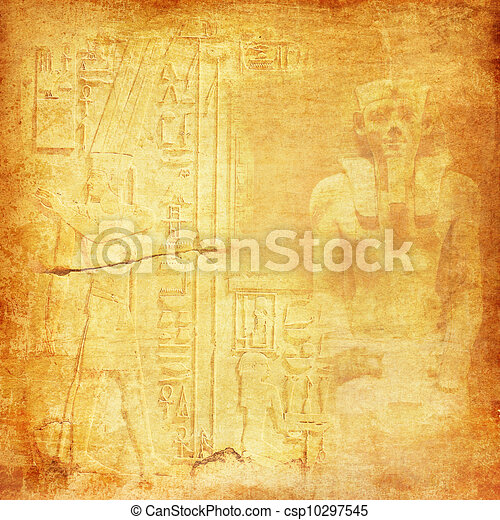Ancient Egypt background - csp10297545