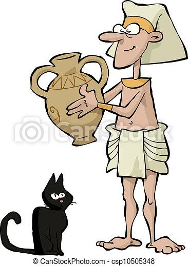 Ancient Egyptian - csp10505348