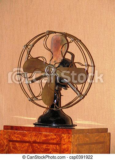 Ancient fan - csp0391922