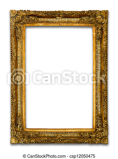 Ancient Gold wood frame - csp12050475
