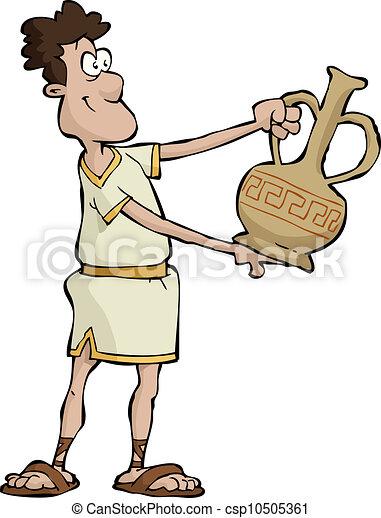 Ancient greek - csp10505361