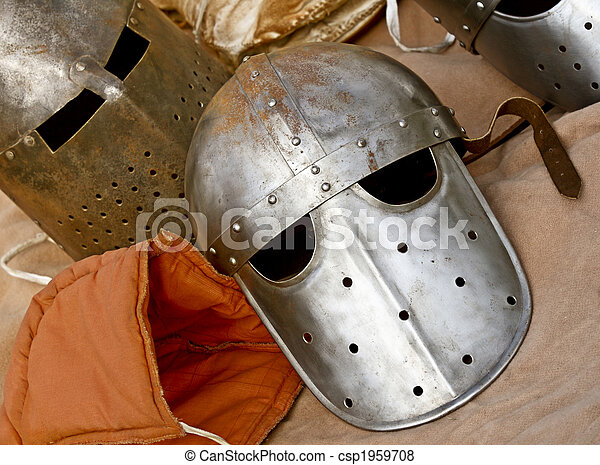 ancient helmet - csp1959708