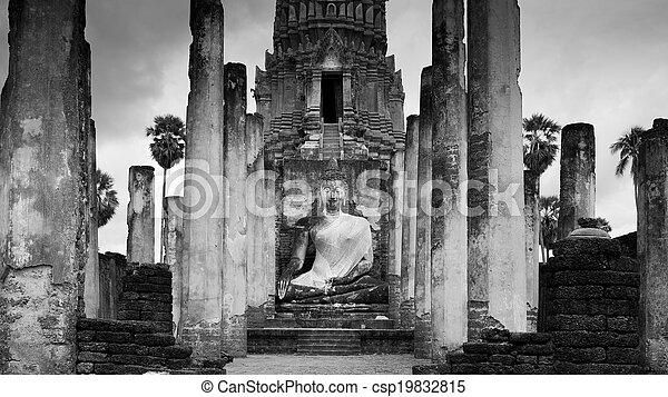 Ancient, Heritage temple building - csp19832815