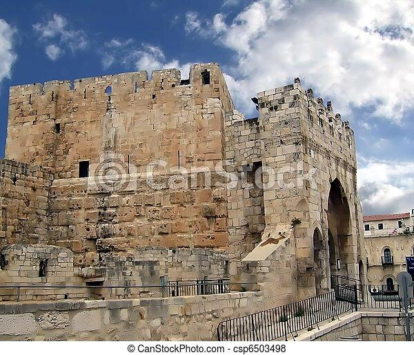 Ancient Jerusalem  Jaffa Gate