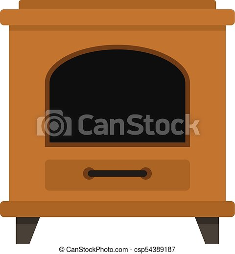ancient oven icon cartoon style ancient oven icon cartoon